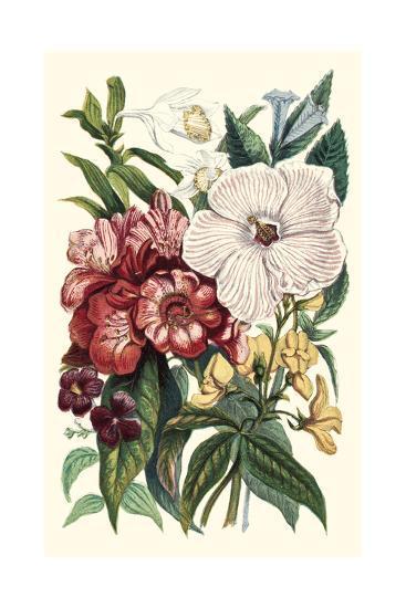 Garden Gathering IV--Art Print