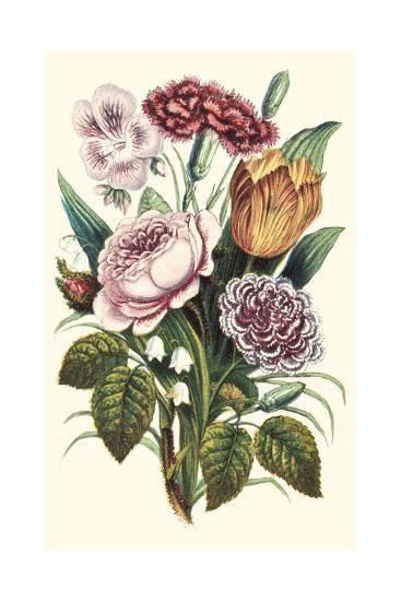 Garden Gathering VIII--Art Print