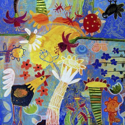 Garden Gazing-Sara Catena-Giclee Print