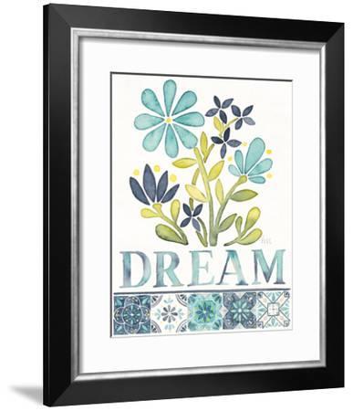 Garden Getaway Inspiration I-Laura Marshall-Framed Art Print
