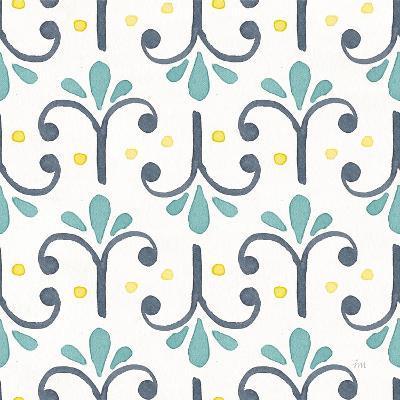 Garden Getaway Pattern XIV-Laura Marshall-Art Print