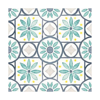 Garden Getaway Pattern XV-Laura Marshall-Art Print