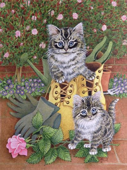 Garden Helpers-Pat Scott-Giclee Print