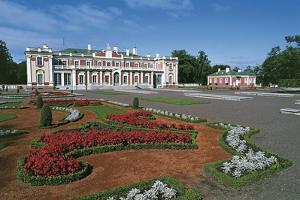 Garden in Front of a Palace, Kadriorg Palace, Tallinn, Estonia