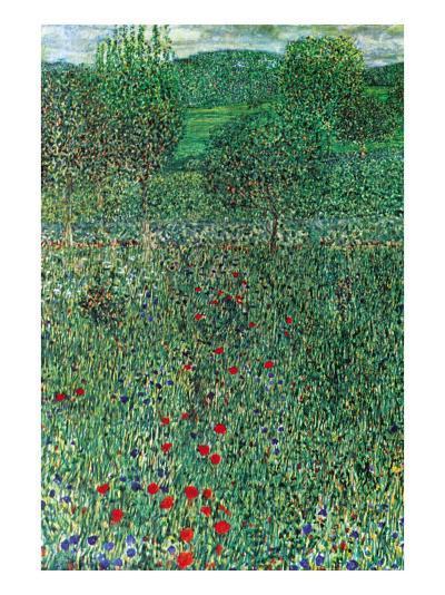 Garden Landscape-Gustav Klimt-Art Print