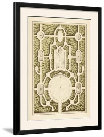 Garden Maze I-Blondel-Framed Photographic Print