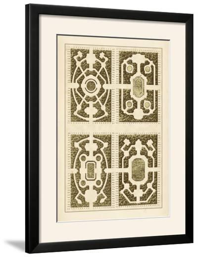 Garden Maze II-Blondel-Framed Photographic Print