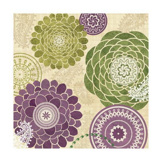 Garden Melody II--Art Print