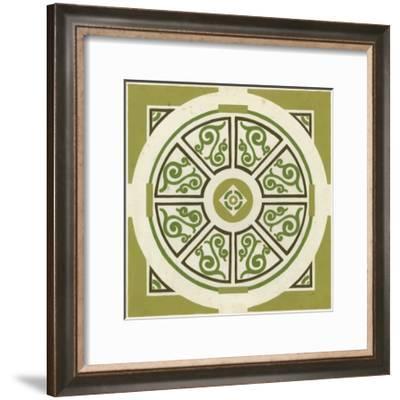 Garden Motif VIII--Framed Art Print
