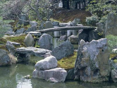 Garden, Nijo Castle, Kyoto, Japan, Asia-Robert Harding-Photographic Print