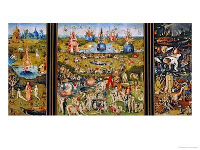 Garden of Delights-Hieronymus Bosch-Giclee Print