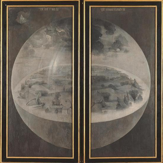 Garden of Earthly Delights, Creation of the World-Hieronymus Bosch-Art Print