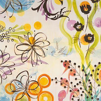 Garden of Eden-Elizabeth Jardine-Art Print