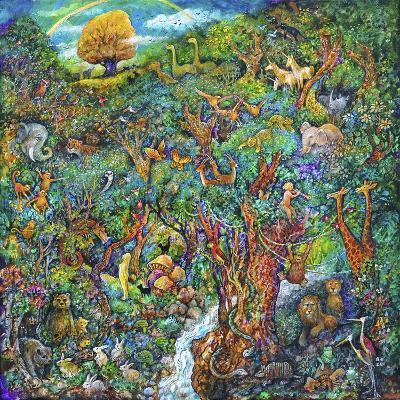 Garden of Eden-Bill Bell-Giclee Print