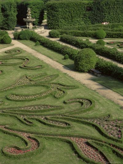 Garden of Flora, Kromeriz Palace, Unesco World Heritage Site, South Moravia, Czech Republic-Upperhall-Photographic Print