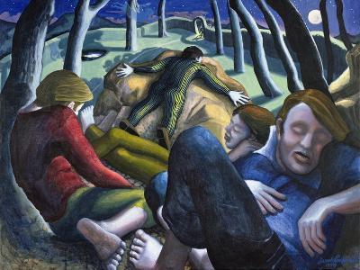 Garden of Gethsemane, 1995-Dinah Roe Kendall-Giclee Print