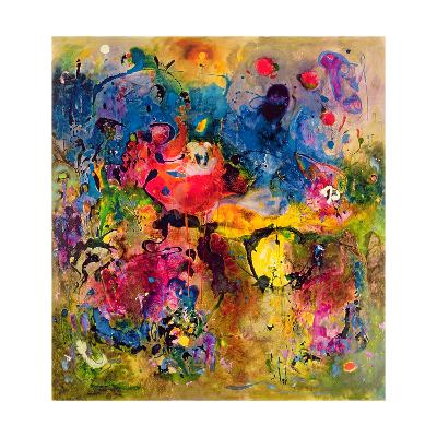 Garden of Heavenly and Earthly Delights-Jane Deakin-Giclee Print