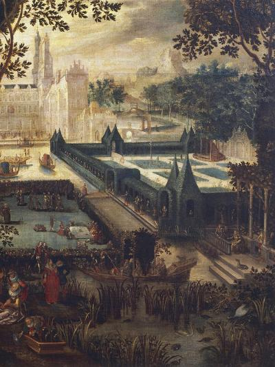 Garden of Love, Painting by Flemish School, 18th Century after Copy by David Vinckboons (1576-1632)--Giclee Print