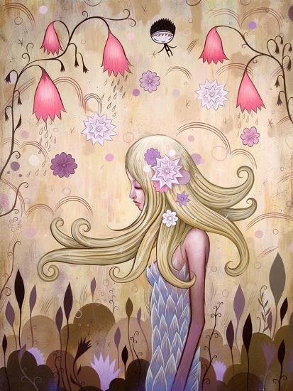 Garden of Sleeping Flowers II-Jeremiah Ketner-Art Print