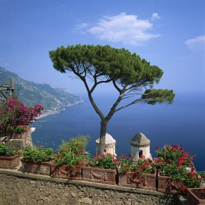 Garden of Villa Rufolo, Ravello, Amalfi Coast, UNESCO World Heritage Site, Campania, Italy, Europe-Roy Rainford-Photographic Print
