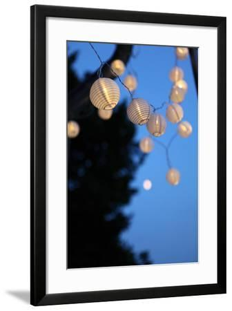 Garden Party, Chain of Lights-Catharina Lux-Framed Photographic Print