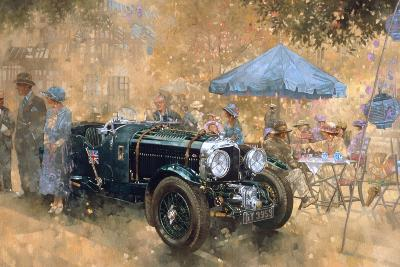 Garden Party with the Bentley-Peter Miller-Giclee Print