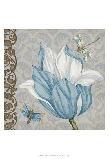 Garden Romance III-Erica J^ Vess-Art Print