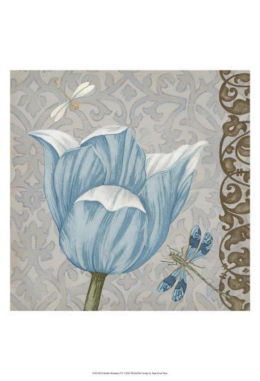 Garden Romance IV-Erica J^ Vess-Art Print