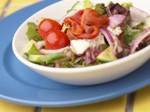 Garden Salad in a Bowl