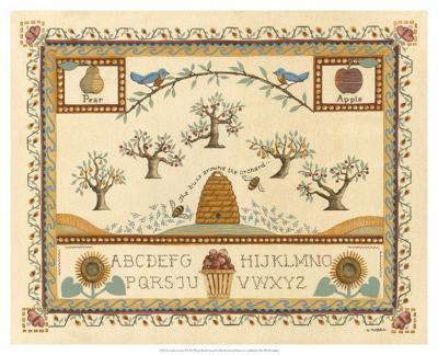 Garden Sampler II-Wendy Russell-Giclee Print