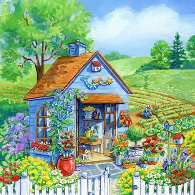 Garden Shed-Geraldine Aikman-Giclee Print