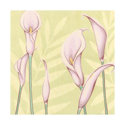 Garden Silhouette II-Megan Meagher-Art Print