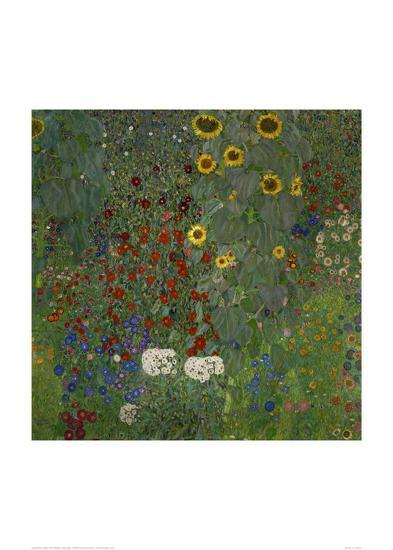 Garden/Sunflowers--Art Print