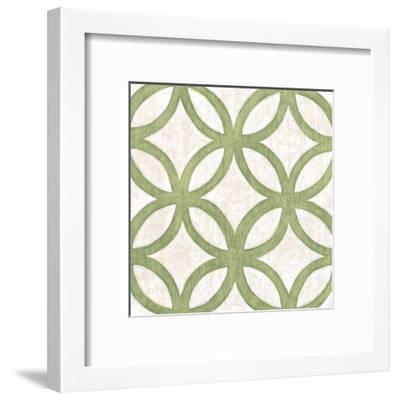 Garden Tile III-Chariklia Zarris-Framed Art Print