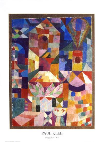 Garden View-Paul Klee-Art Print