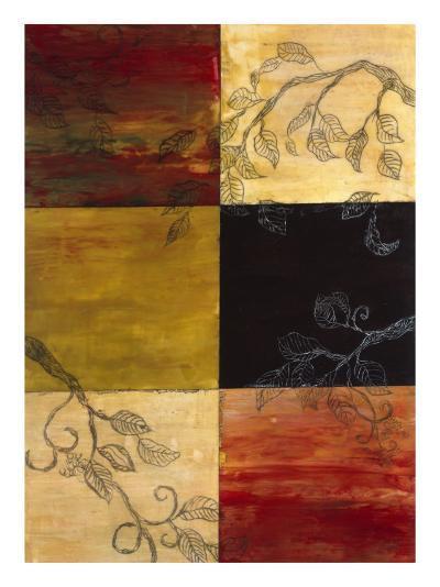 Garden Vines I-Ellen Traub-Premium Giclee Print