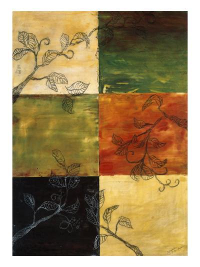 Garden Vines II-Ellen Traub-Premium Giclee Print