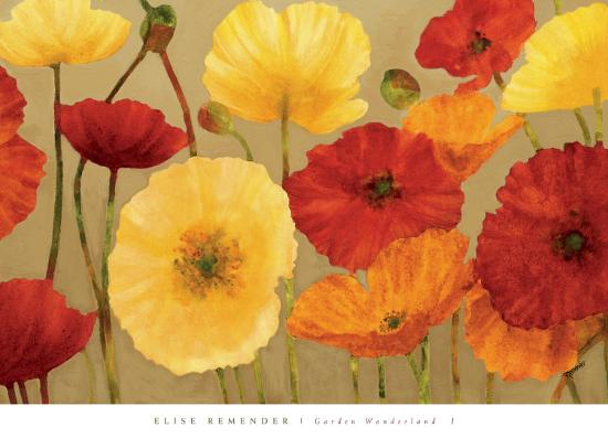 Garden Wonderland I-Elise Remender-Art Print