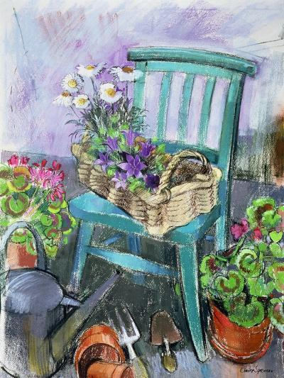 Gardener's Chair-Claire Spencer-Giclee Print