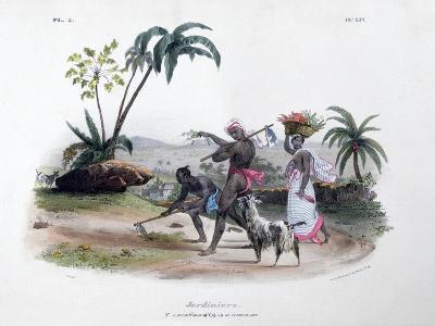 Gardeners, 1828- Marlet et Cie-Giclee Print
