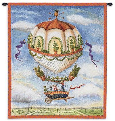 Gardeners-Alexandra Churchill-Wall Tapestry