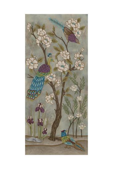 Gardenia Chinoserie I-Chariklia Zarris-Art Print