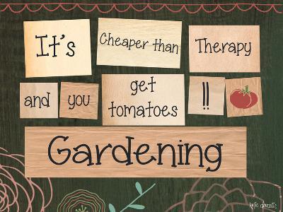Gardening-Katie Doucette-Art Print
