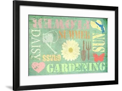 Gardening-Cora Niele-Framed Giclee Print