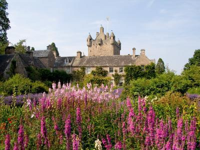 Gardens and Castle Called the Cawdor Castle, Cawdor, Scotland-Bill Bachmann-Photographic Print