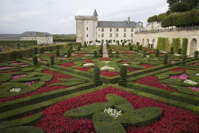 Gardens, Chateau de Villandry, UNESCO Site, Indre-Et-Loire, Touraine, Loire Valley, France-Rob Cousins-Photographic Print