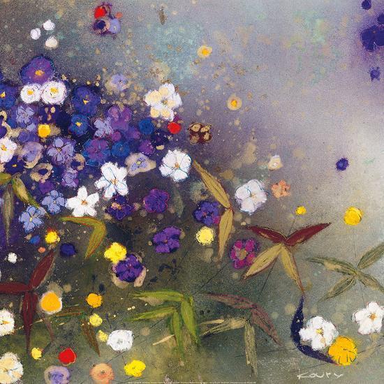 Gardens in the Mist IX-Aleah Koury-Art Print
