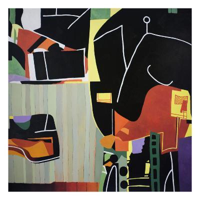 Gardens of the Mind 81-Max Hayslette-Premium Giclee Print