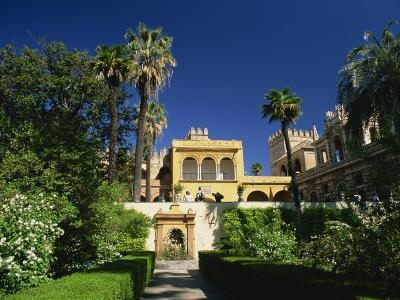 Gardens of the Reales Alcazares, Seville, Andalucia, Spain, Europe-Tomlinson Ruth-Photographic Print