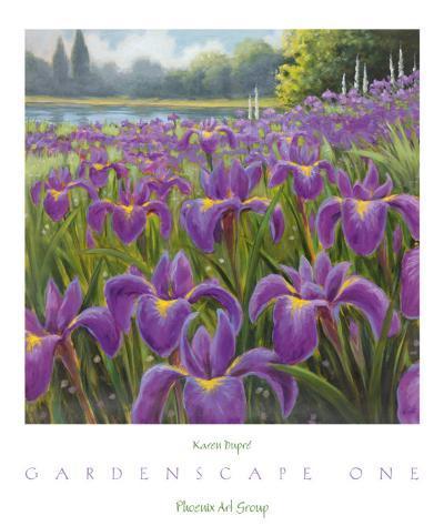 Gardenscape I-Karen Dupr?-Art Print